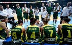 FIBA klasifikacijoje Lietuvos moterų rinktinė pakilo į 24-ą vietą