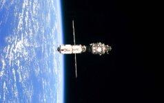 Pagamintas pirmasis pasaulyje kosminių šiukšlių naikinimo įrenginys