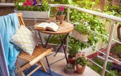 Pranašauja daugiabučių namų balkonų ir terasų renesansą