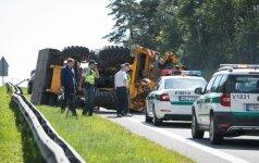 Policija ieško liudytojų, mačiusių avariją prie Grigiškių