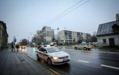Dėl dujotiekio remonto ribojamas eismas Savanorių prospekte Vilniuje