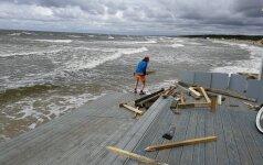 Ar jūra praris Palangą?