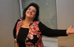 Atradusi naują dietą V. Katunksytė per mėnesį numetė 13 kilogramų