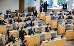 Seimui teikiamas prezidentės veto dėl vidaus sandorių savivaldybėse