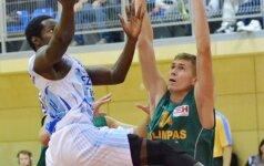 """Geriausias NKL savaitės krepšininkas - """"Olimpo"""" aukštaūgis R. Keburys"""