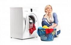 5 populiariausi mitai apie skalbimą