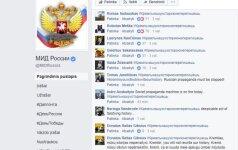 """Rusija tulžingai atsakė į lietuvių šturmą prieš """"Facebook"""" paskyrą"""