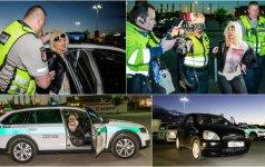 Vairuotojos viešnagė Vilniuje baigėsi prastai: klyksmai, keiksmai, antrankiai ir areštinė