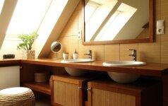 Paprasti patarimai, kaip greitai sukurti tvarką vonios kambaryje