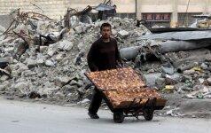 Per Rusijos remiamą Alepo puolimą žuvo apie pusė tūkstančio žmonių
