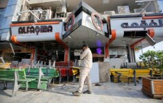 Bagdade prie ledainės sprogo bomba