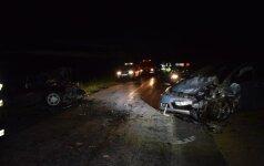 Baisi avarija Lazdijų rajone: vienas žuvęs, penki sužeisti