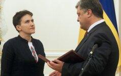 N. Savčenko pasiruošusi tapti Ukrainos prezidente