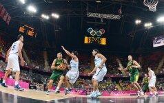 Lietuvos krepšinio rinktinė Londono olimpiadoje liko tik aštunta