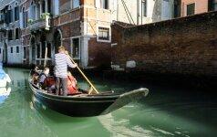 Atsisveikinimas su skęstančia Venecija