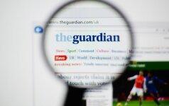 """""""The Guardian"""" ir """"The Observer"""" bus leidžiamas mažesnio formato"""