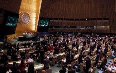 Rusija reikalauja į Sirijos taikos derybų darbotvarkę įtraukti terorizmo klausimą