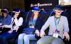 Virtualios realybės priemonės, Samsung nuotr.
