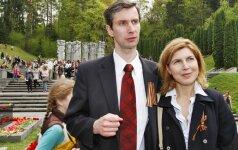 Algirdas Paleckis with his wife Olga