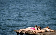 Rekordiniai balandžio karščiai Lietuvoje - klimato kaitos įrodymas