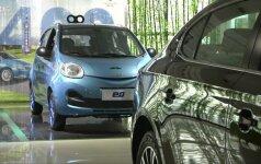 Kinai eina iš proto dėl vietos gamintojų elektrinių automobilių
