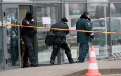 Dėl moters atnešto vyro palikimo evakuotas Kelių policijos pastatas