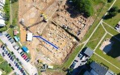 Vilniuje pradėtas statyti naujas baseinas