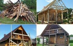 Sodybos statybos: visuomet laimi brangesnis variantas