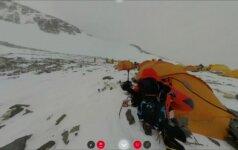 Virtualios realybės projektas siūlo 360 laipsnių vaizdą į Everestą