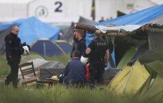 Iš Graikijos Idomenio stovyklos perkelta šimtai migrantų