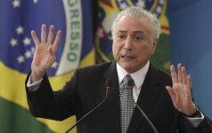Brazilijos prezidentas Michelis Temeras