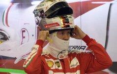 """Ferrari"" neskuba pratęsti sutarties su S. Vetteliu"