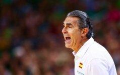 Ispanai pasirinko – S. Scariolo rinktinei vadovaus iki Tokijo olimpiados
