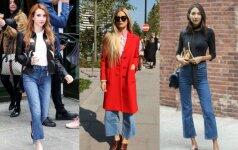 Stilius brandesnio amžiaus moterims: kaip mūvėti madingiausius sezono džinsus