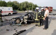 Kaune per avariją sužaloti du žmonės