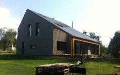 Puspasyvis namas: 147 eurai už šildymą žiemos metu