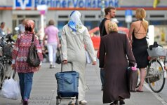 A. Merkel reikalauja lojalumo iš Vokietijoje gyvenančių turkų