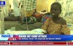 Nigerijoje per mirtininkių sprogdintojų ataką žuvo mažiausiai 58 žmonės