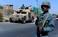 JT: civilių afganų aukų pirmąjį šių metų pusmetį buvo rekordiškai daug