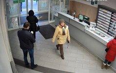 Alytaus policija ieško moters, kuriai parūpo svetimi pinigai
