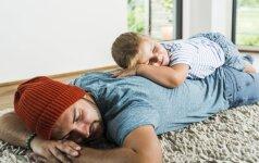 Kaip užmigti greičiau nei per minutę