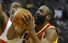 """""""Rockets"""" klubas be D. Motiejūno NBA lygoje patyrė pralaimėjimą Portlande"""