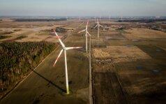 Vėjo energetikos atstovai piktinasi paskleista informacija