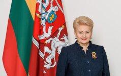 Prezidentė sveikina Lietuvą krepšinio 95-mečio proga