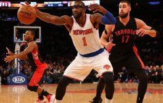 """Simbolinę sutartį su """"Knicks"""" sudaręs 33-ejų A. Stoudemire'as baigia karjerą NBA"""