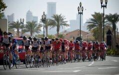 Dviratininkų lenktynės Katare