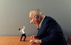 7 požymiai, kad jūsų viršininkas – siaubūnas