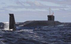 """Rusija išbandė iš povandeninio laivo paleidžiamą balistinę raketą """"Bulava"""""""