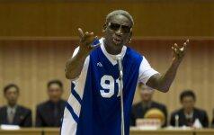 """""""Bulls"""" legendai D. Rodmanui – rimti nemalonumai dėl avarijos"""