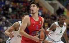 Eurolygoje CSKA krepšininkai nugalėjo Tel Avivo ekipą
